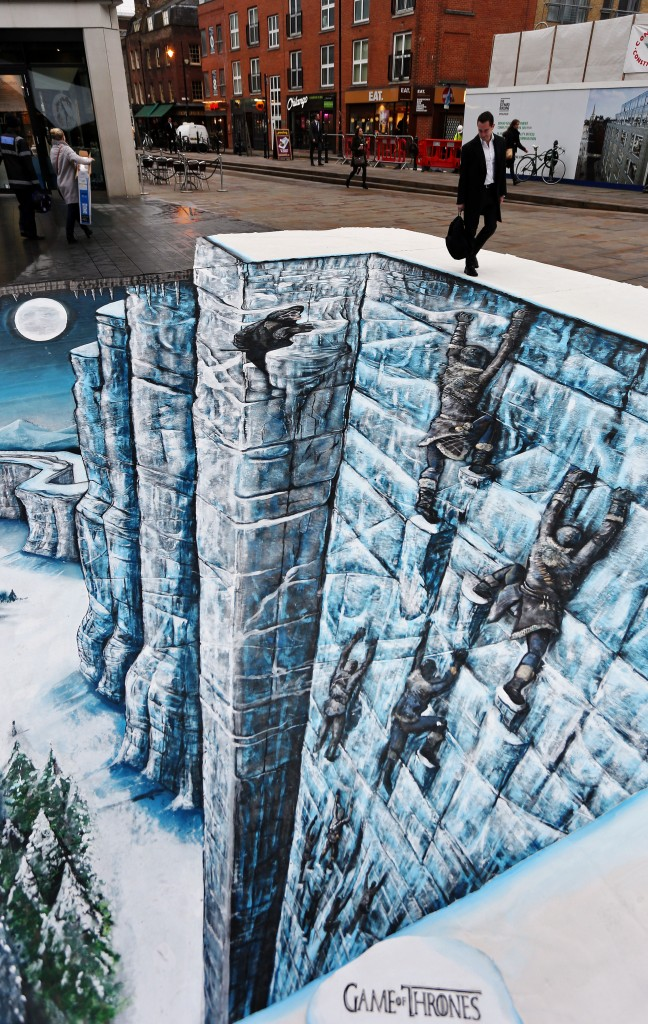 street art game of throne