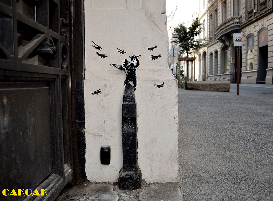 street art king kong