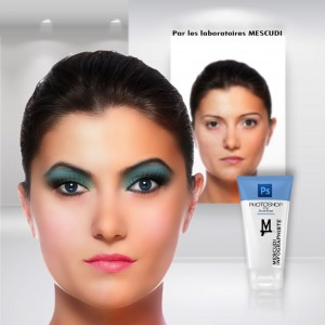 retouche maquillage photoshop